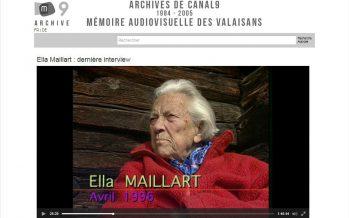 Archives de Canal9: 3300 heures d'émissions sont disponibles pour le grand public. Des témoignages visuels uniques de l'histoire contemporaine du Valais