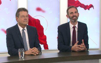 Le face-à-face: Pascal Perruchoud et Jakob Rager parlent économie et énergie sur notre plateau