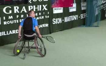 Tennis en fauteuil roulant: le 18e Sion Indoor se déroule au Domaine des Iles à Sion. Une manifestation internationale