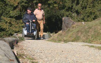 Cartes numériques décrivant les lieux accessibles aux personnes souffrant de handicap: 300 lieux sont déjà répertoriés en Valais