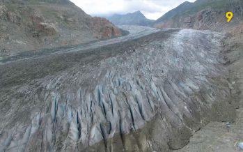 Fonte des glaciers: 2017 figure dans le top trois des fontes les plus intenses