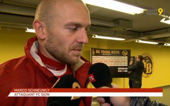 «On a encaissé trop facilement des buts» nous dit Marco Schneuwly suite à la défaite du FC Sion