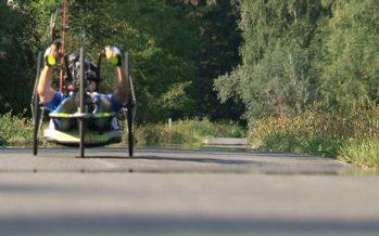 L'athlète paraplégique Silke Pan continue de briller: elle vient de remporter le Giro d'Italie et le Cybathlon de Düsseldorf