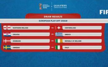 Coupe du Monde 2018: la Suisse jouera contre l'Irlande du Nord en barrage