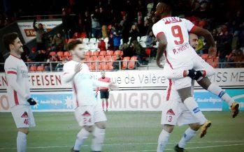 Football: le FC Sion s'impose enfin à Tourbillon avec un net succès 3 à 0 face à Grasshopper