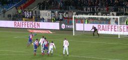 FC Sion: la lanterne rouge de la Super League. C'est sur le score de 5 à 1 que les Sédunois se sont inclinés à Bâle
