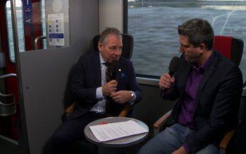 Politique des transports: «Le Valais est au carrefour du réseau ferroviaire suisse et européen», souligne Jacques Melly