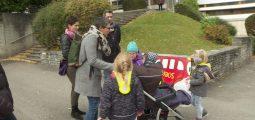 «Rentrer à pied depuis l'école fait du bien aux enfants», rappelle Jannick Badoux, coordinatrice de Pédibus-Valais