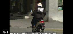Archives: il y a 19 ans sur Canal9, les 6 heures du scooter électrique