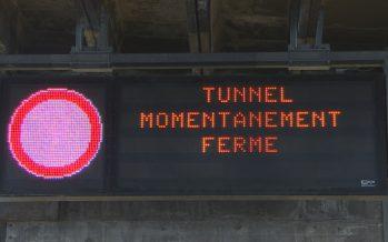 Tunnel du Grand-St-Bernard: les automobilistes comme les gens d'Entremont devront vraisemblablement patienter jusqu'au 15 janvier
