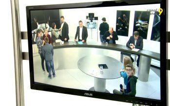 «Futur en tous genres»: des élèves passent une journée à Canal9 et découvrent les métiers de la télé