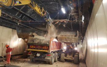 Tunnel du Grand-St-Bernard: les ouvriers sont à pied d'œuvre depuis dix jours