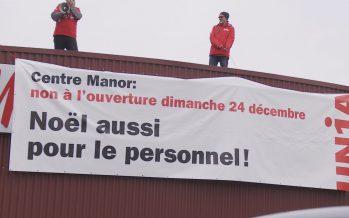 Ouverture de Manor à Monthey dimanche 24 décembre: Unia se battra jusqu'au bout