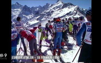 Archives: il y a 27 ans, l'Euroskiathlon à Zinal