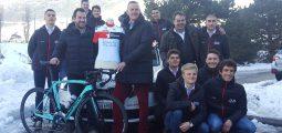 Cyclisme: une nouvelle équipe valaisanne, le Team «IAM Excelsior» a été lancée. Son but: préparer de jeunes talents au monde pro