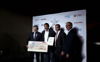 Le 32e Prix Sommet de l'UBS a couronné cette année l'entreprise Bonvin à Corin