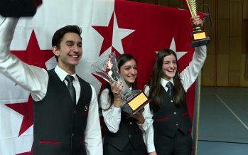 Pour le 23e championnat valaisan des solistes, le Collège des Creusets à reçu 350 jeunes instrumentistes