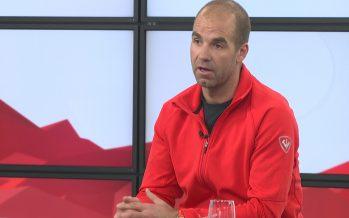 Le champion olympique de ski Didier Défago est sur notre plateau pour parler de ses projets