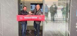 Crans-Montana a inauguré sa Maison du Tourisme qui regroupe en un seul lieu l'OT, les remontées mécaniques et l'Ecole suisse de ski