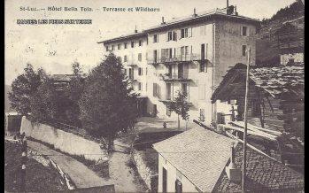 Les hôtels historiques à l'honneur du prix du patrimoine suisse: l'Hôtel Bella Tola à St-Luc est lauréat