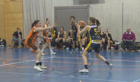Basketball, Troistorrents garde la main