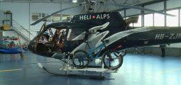 Hélibike: mettez votre VTT dans un hélicoptère et descendez les pentes du côté de Nendaz, Arolla, Verbier et Zermatt!