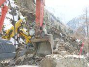 La route de la Forclaz, entre le col et Trient, n'ouvrira pas avant le 5 mars prochain