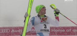 Ski alpin: premier podium mondial pour le Valaisan Daniel Yule à Kitzbühel