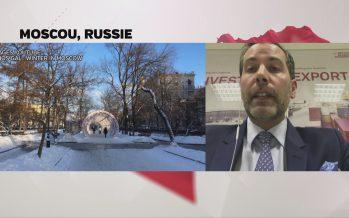 «Au bout du web»: l'actualité commentée par le Valaisan Marc Scheurer depuis Mosco