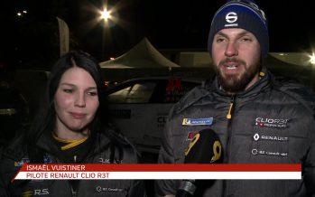 Le duo valaisan Ismaël Vuistiner et Florine Kummer s'est fait une grosse frayeur au Rallye de Monte-Carlo