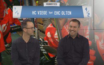 Les Pronostics: notre chef des sports Florent May affronte Sébastien Pico, le directeur général du HC Viège