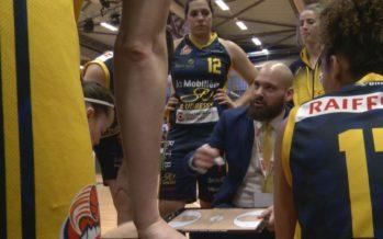Basketball: battu en finale de la SBL Cup par Elfic Fribourg, le BBC Troistorrents est encore un peu trop tendre