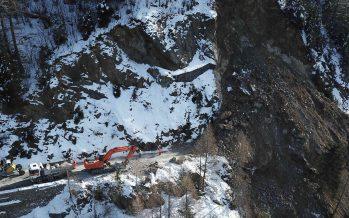 En raison d'un éboulement, la route du col de la Forclaz restera fermée pour plusieurs semaines