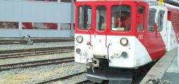Accessibles uniquement par le rail et ce pour une durée indéterminée, les villages de Trient et Finhaut s'organisent