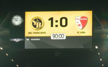 FC Sion: une défaite à Berne mais des certitudes
