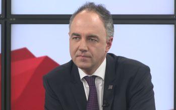 Le conseiller d'Etat Christophe Darbellay est le grand témoin de notre journal du dimanche