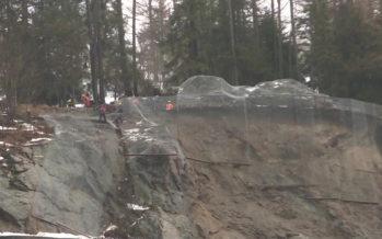 Les habitants de Trient évacués pour permettre le dynamitage de l'éboulement qui bloque la route de la Forclaz