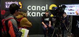 Your Challenge: présentation de la TV lors du salon des métiers et formations à Martigny
