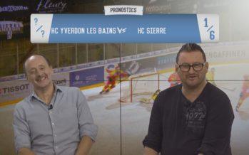 Les Pronostics: notre journaliste Désiré Coppex affronte notre consultant David Vernaz