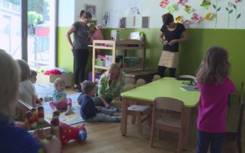 Garde d'enfants: grâce à une politique dynamique depuis 2000, le Valais est plutôt bien doté avec près de 10'000 places d'accueil