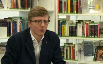 À tout juste 17 ans, Grégoire Uldry se passionne pour la politique: «Plus j'avance, plus j'aime ça!»
