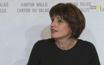 Dangers naturels, CarPostal, aéroport, candidature Sion 2026…: le gouvernement valaisan s'entretient à Sion avec Doris Leuthard