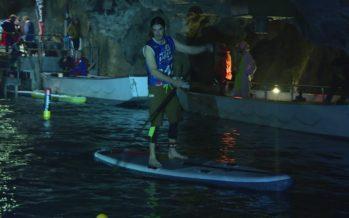 Stand Up Paddle: le lac souterrain de Saint-Léonard accueille une compétition unique au monde