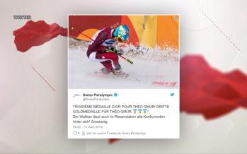 Théo Gmür: «Je n'ai pas encore réalisé ce qui m'arrive», dit le triple médaillé d'or au Jeux paralympiques