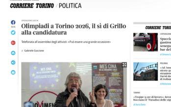 Turin 2026? Pas inenvisageable selon la maire de la ville Chiara Appendino, qui reçoit le soutien de Beppe Grillo, fondateur du mouvement 5 étoiles