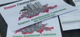 Immigration de masse: l'UDC refait campagne