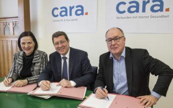 Nouvelle étape pour le dossier électronique du patient: le Valais rejoint l'association intercantonale «cara»