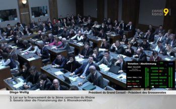 Le financement de Rhône 3 accepté en 1re lecture avec des multiples amendements. Les entreprises n'auront pas à passer à la caisse