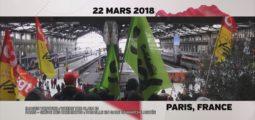 [Au Bout du Web] avec le comédien Damien Dorsaz, témoin des grèves qui bousculent Paris et la France entière