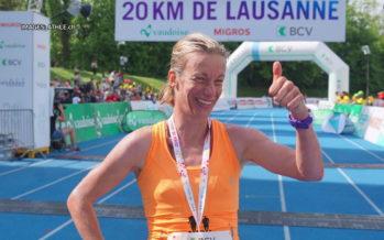 Deux podiums valaisans pour la 37e édition des 20km de Lausanne